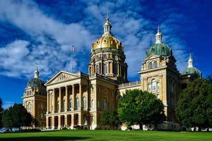 State of Iowa Capital Building